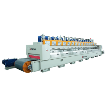 Ceramic tile polishing machine