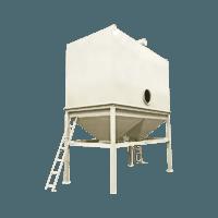 Ceramic tile industrial dust collector